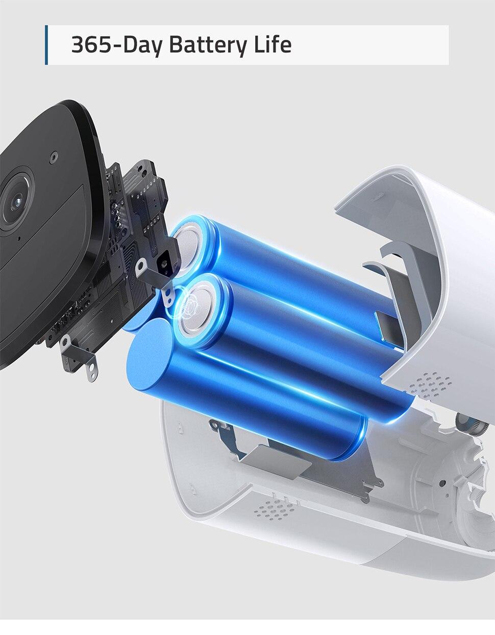 Eufy segurança, eufycam 2 pro câmera de