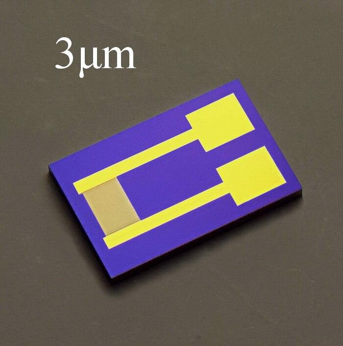 3um Silicon-based Interdigital Electrode Capacitor Array MEMS Sensor