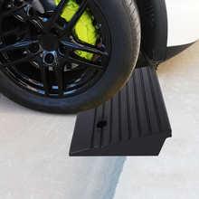 2 шт., портативные резиновые панцирные пандусы для автомобиля, скутера, мотоцикла, инвалидной коляски