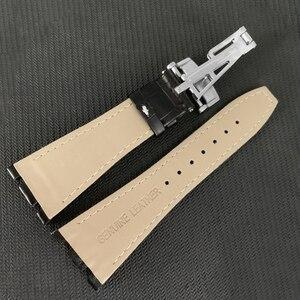 Image 5 - Audemars Correa de cuero genuino para reloj, correa de reloj hecha a mano de 26mm para 100%, para AP Piguet + herramientas