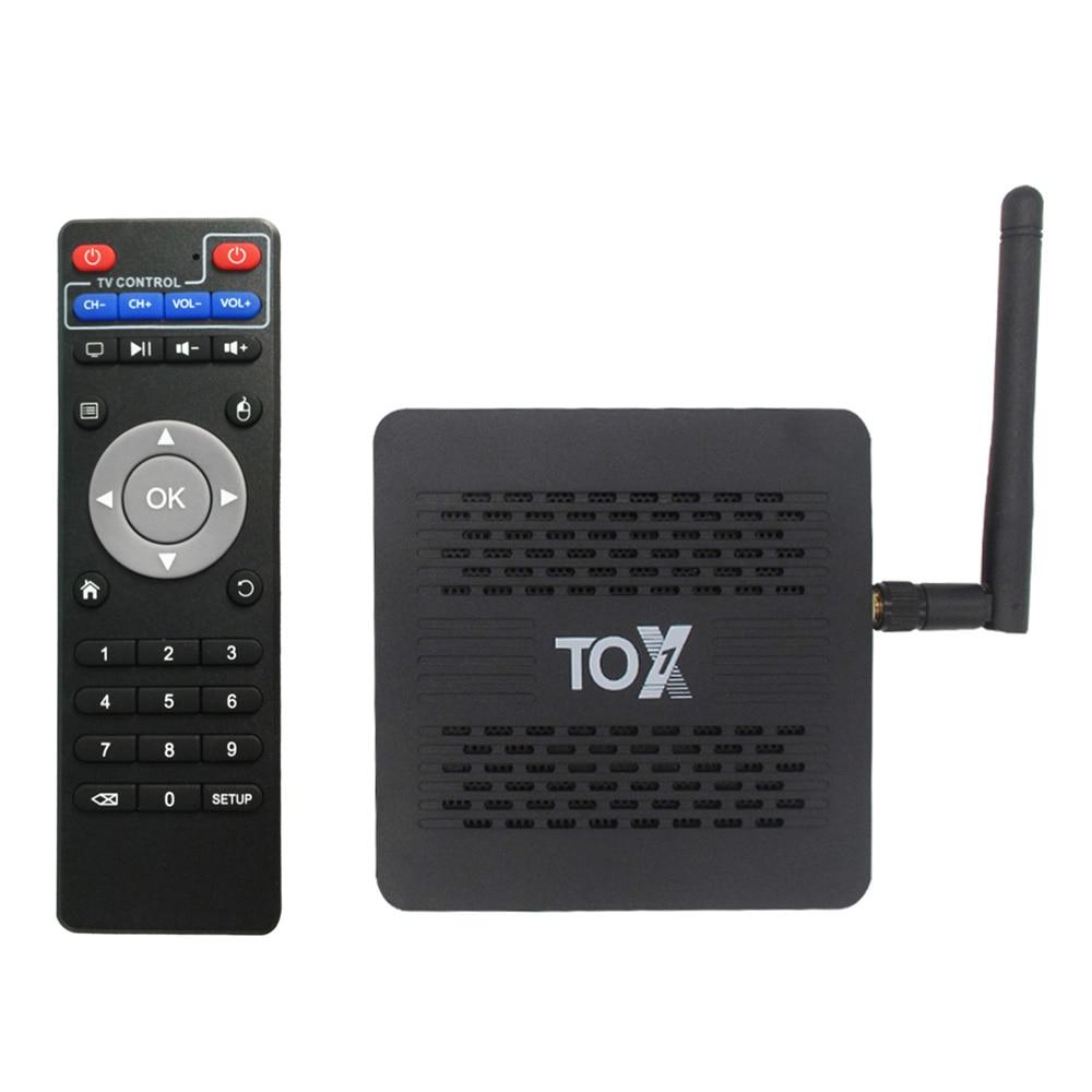 SZBOX 2020 TOX1 Amlogic S905X3 Android 9,0 ТВ коробка, 4 Гб оперативной памяти, 32 Гб встроенной памяти, Декодер каналов кабельного телевидения 2,4G 5G Wi-Fi Bluetooth 1000M ...