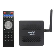 SZBOX 2020 TOX1 Amlogic S905X3 Android 9.0 TV Box 4GB 32GB Set top box 2.4G 5G WiFi Bluetooth 1000M Lan 4K TVBOX VS AX95 DB