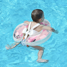 Baby Swimming Float Inflatable Infant Pink Floating Ring Kids Swim Pool Accessories Rings Toddler Circle Toys Bathing Summer