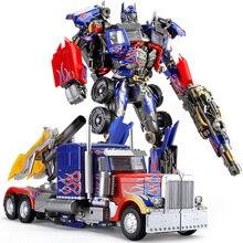 Po dowódca transformacji czarna mamba LS03F film MPM04 MPM 04 Oversize odlew ze stopu MPP10 figurka zabawka robot prezenty dla dzieci