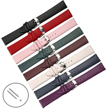 Animal Skin Watch Strap 8mm 10mm 12mm 14mm 16mm 18mm 20mm 22mm 24mm Men Leather Women Watchbands Genuine Band High Quality milanese watch band 8mm 10mm 12mm 14mm 16mm 18mm 20mm 22mm 24mm stainless steel mesh replacement strap for dw apple