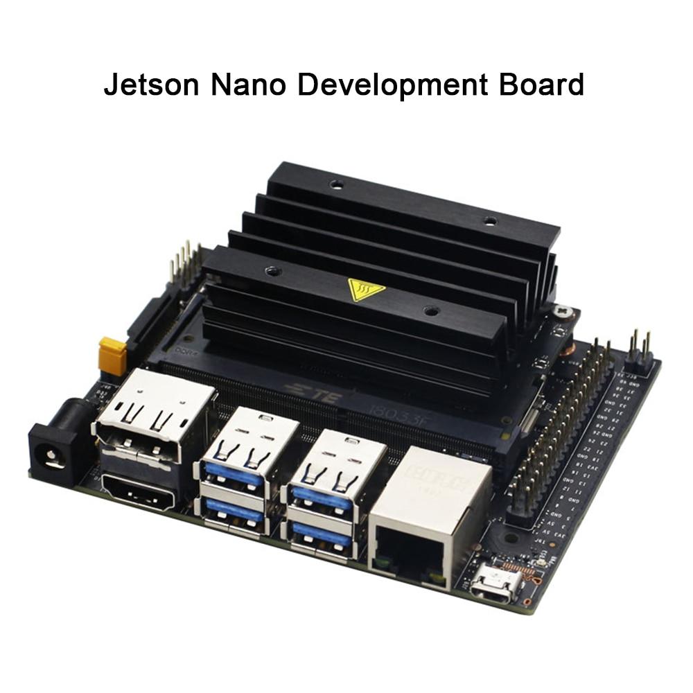 Nvidia jetson nano desenvolvedor kit, pequeno poderoso computador para o desenvolvimento da ia, suporte de desenvolvimento, corrida, múltiplas redes neurais, paralelo