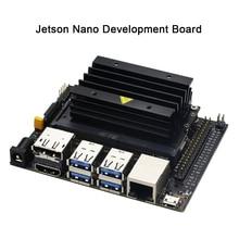Nvidia jetson ナノ開発キット小型強力なコンピュータ ai 開発サポートランニング複数ニューラルネットワークでパラレル