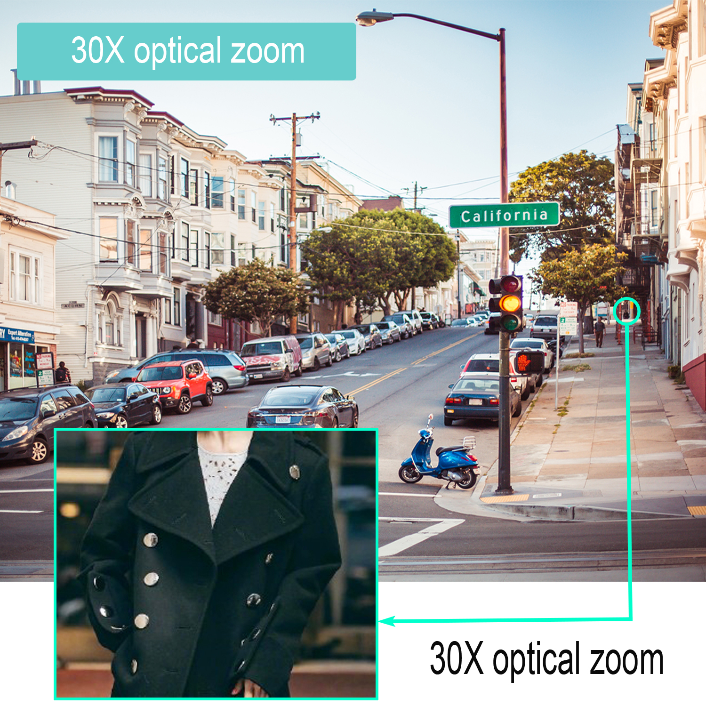 IMPORX Onvif IP-камера Wi-Fi HD 20X / 30X Zoom с - Безопасность и защита - Фотография 4