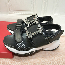 Chic Women Sandals Fashion Mesh Breathable Women Causual Shoes