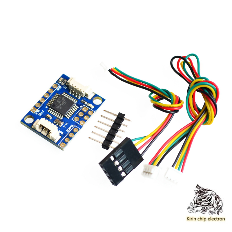 5pcs / Lot Crus Multiwii MWC I2c-gps NAV Navigation Board Navigation Module GPS Adapter Board
