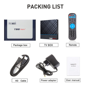 Image 5 - T95Z Plus/T95 MAX PLUS 16/32/64GB Android 7.1/9.0 4K tv, pudełko smart tv Box 2.4G/5GHz WiFi BT4.0 zestaw Box T95 odtwarzacz multimedialny
