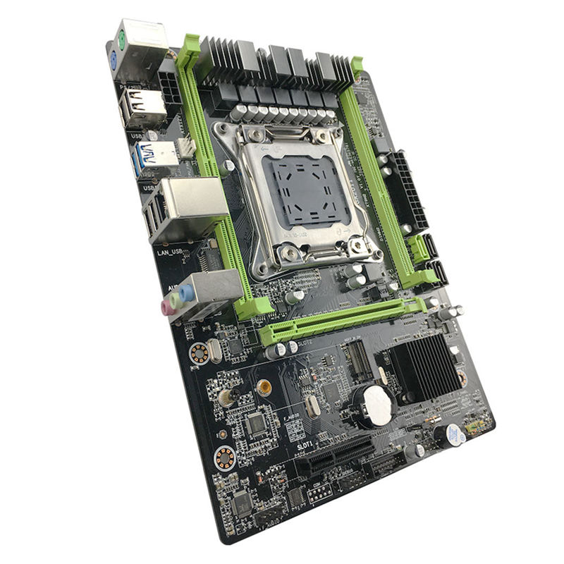 X79 M2 Motherboard Lga2011 Atx Usb3.0 Sata3 Pci-E Nvme M.2 Ssd Support Reg Ecc Memory And Xeon E5 Processor