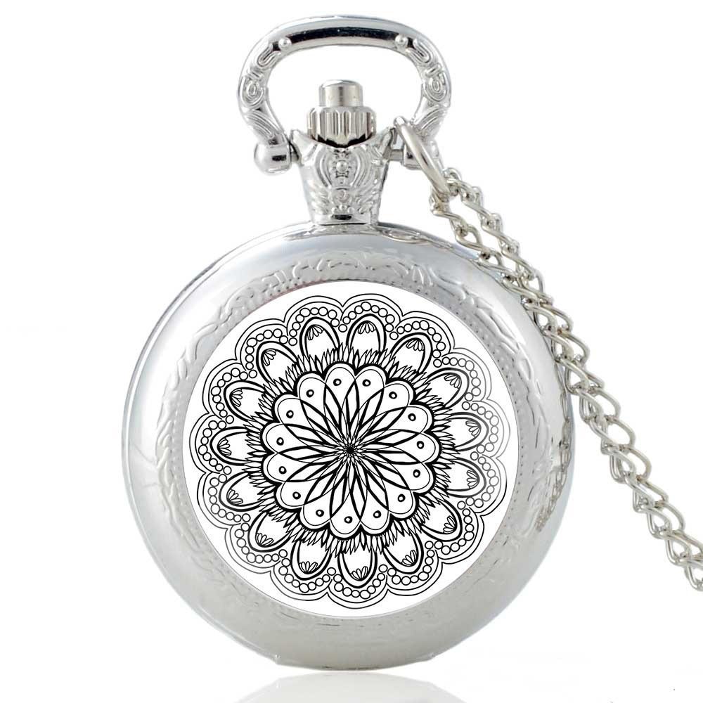 Vintage Skeleton Steampunk Mechanical Pocket Watch Necklace Hand Wind Silver Bronze Retro Clock Chain Pendant Men Women Gift