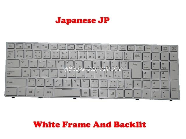 Laptop Keyboard for CLEVO W250ENQ W250HU W250HUQ W251BAQ W251BLQ W251BUQ W251BUQ-C W251BWQ W251BWQ-C W251BZQ W251CUQ Brazil BR Without Frame