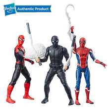 Hasbro Spider-man Far From Home Series of 6 Inch Web Strike Spider man Ultimate Crawler Feat Hero Suit Popular By Girls And Boys