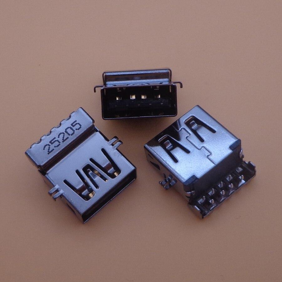 1pc 3.0 USB Jack Socket Connector For Lenovo ThinkPad T440 T440s T450 T450s T460 Etc USB3.0 Port