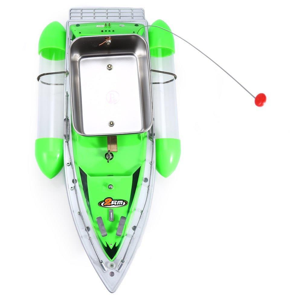 pesca isca barco água led plástico liga