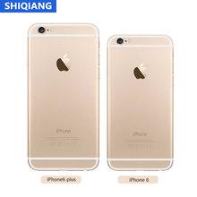 Odblokowany Apple iPhone 6 6-Plus używane oryginalne telefony komórkowe IOS 16 64 128GB dwurdzeniowe rozpoznawanie linii papilarnych 8MP 4G LTE Smarthone tanie tanio SOYES Nie odpinany CN (pochodzenie) Rozpoznawania linii papilarnych Do 200 godzin 1800 Nonsupport Smartfony Pojemnościowy ekran