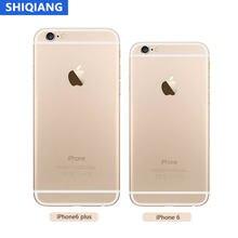 Desbloqueado apple iphone 6/6-plus usado telefones celulares originais ios 16/64/128gb duplo núcleo reconhecimento de impressão digital 8mp 4g lte smarthone