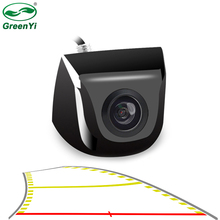2020 New 4089T Chips Night Vision Auto Parking Assistance Intelligent Dynamic Trajectory Parking Line Car Reverse Backup Camera