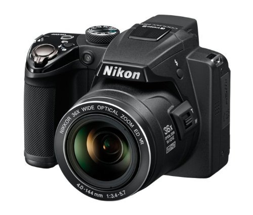 USED Nikon COOLPIX P500 12.1 CMOS Digital Camera with 36x NIKKOR Wide-Angle Optical Zoom Lens and Full HD 1080p Video (Black)