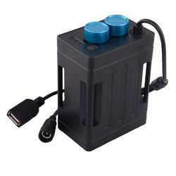 עמיד למים 18650 סוללה כוח בנק מקרה תיבת USB טעינת טלפון 8.4V סוללות מקרה תיבת עבור Led אופני אור לוז bicicleta
