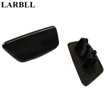 LARBLL Front Bumper headlight water spray nozzle cover headlamp washer nozzle cap for Subaru Forester 2009-2012 image