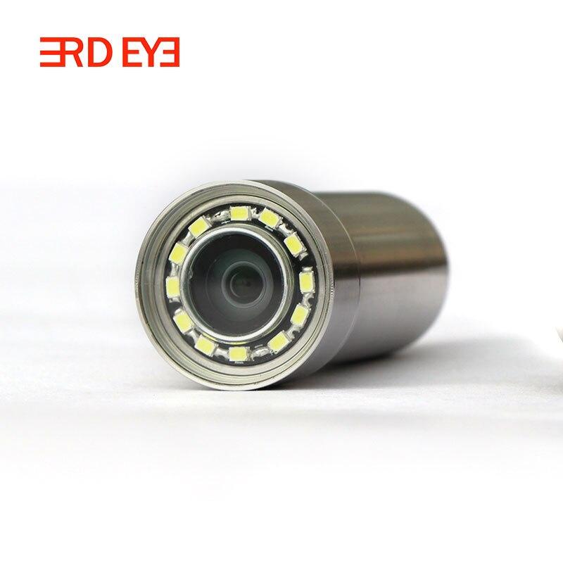 2MP 90deg, IP68, 12V Power Stainless Steel Mini CCTV Camera 1080P Industrial Robot Camera