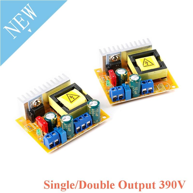 DC-DC Повышающий Модуль зарядки высоковольтного конденсатора, постоянный ток 8-32 В до 45-390 В ± 45-390 в, плата преобразователя, регулируемый регуля...