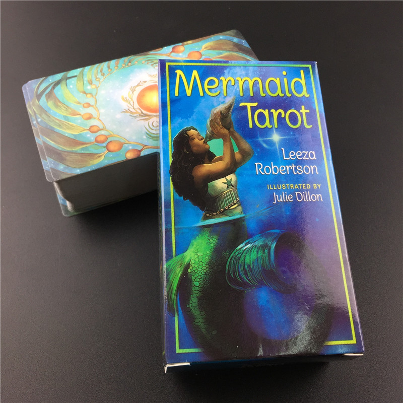 Mermaid Tarot Board Games Cards Playing Card Game Entertainment Guidance Divination Fate Tarot Party Supplly