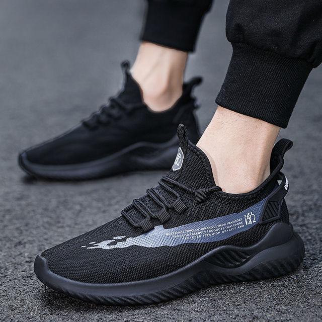 Fashion Men Sneakers Mesh Casual Shoes Lac-up Mens Shoes Lightweight Vulcanize Shoes Walking Sneakers Zapatillas Hombre size 44 3