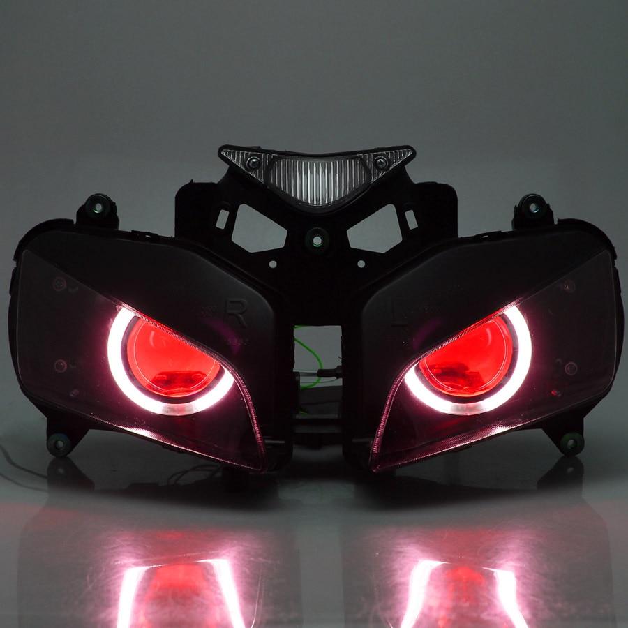 Motorcycle Front Headlight Head Light Lamp Headlamp Assembly Fits For Honda CBR1000RR CBR1000 RR CBR 1000 RR 2004 2005 2006 2007