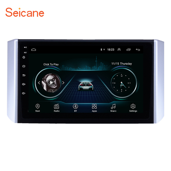 Seicane Android 9.1 Car GPS Navigation Radio 9 inch for Mitsubishi Xpander 2017-2018 support Carplay 3G WIFI Mirror Link TPMS image
