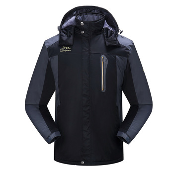 Jackets men and women winter thickened windbreaker jacket waterproof warm outdoor couples cold-proof mountaineering clothing