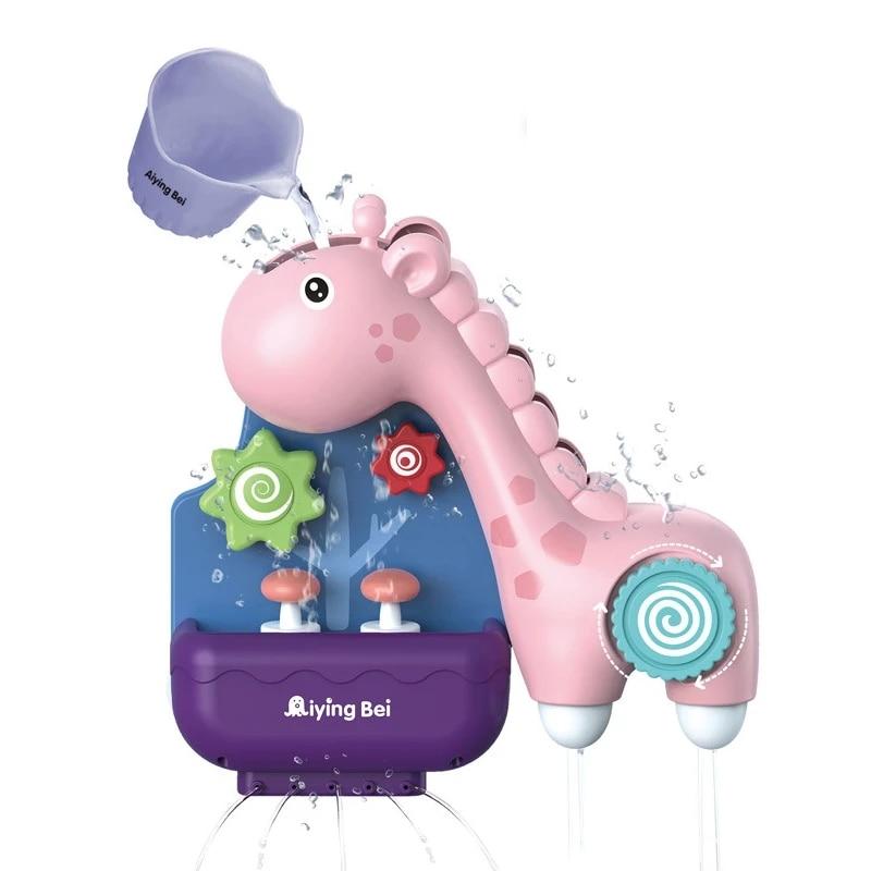 Bath Toys Pipeline Water Spray Shower Game Elephant Bath Baby Toy for Children Swimming Bathroom Bathing Shower Kids Toy