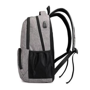 Image 5 - Fengdong حقيبة مدرسية عالية s teenage حقيبة السفر الصبي حقيبة لابتوب 15.6 أطفال حقيبة مدرسية الصبي المدرسية على ظهره usb تهمة