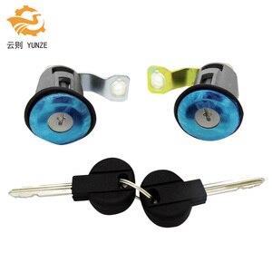 Image 1 - 9170G3 252522 cylindre de serrure de porte gauche droite avec 2 clés pour citroën BERLINGO XSARA PICASSO PEUGEOT PARTNER