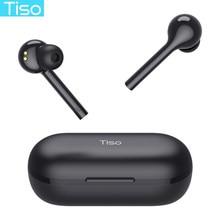 Tiso i7 tws controle de toque sem fio bluetooth 5.0 fones de ouvido ipx5 à prova ddual água modo duplo 3d fone de ouvido estéreo alta fidelidade com microfone