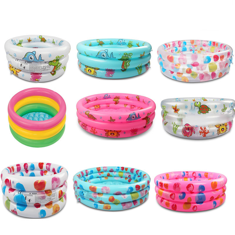 Swimming-Pool Gonflable Rainbow Pscina Alberca Baby Kids Float-Accessories Round PVC