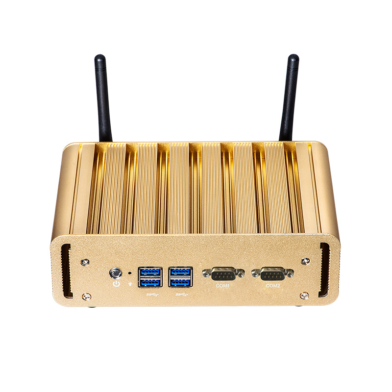 Dual LAN 2*COM Rs232 Mini PC Intel Celeron N2830 J1900 3215U Dual-core 3805U 1333/1600MHz DDR3L Fanless Desktop Mini Comput