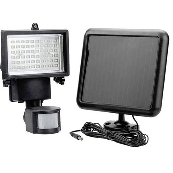 60LEDs Solar LED Flood Light with Motion Sensor IP65 Waterproof Outdoor Wall Lawn Garden Path Landscape Lighting Flood Light