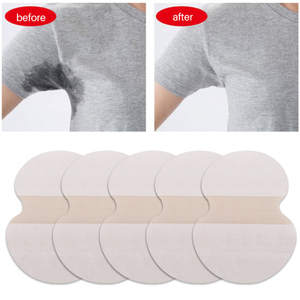 10/20/30pcs Underarm Pads Dress Sweat Perspiration Pads Shield Underarm Armpits Sweat Pads Deodorant Women Armpit Absorbent Pads
