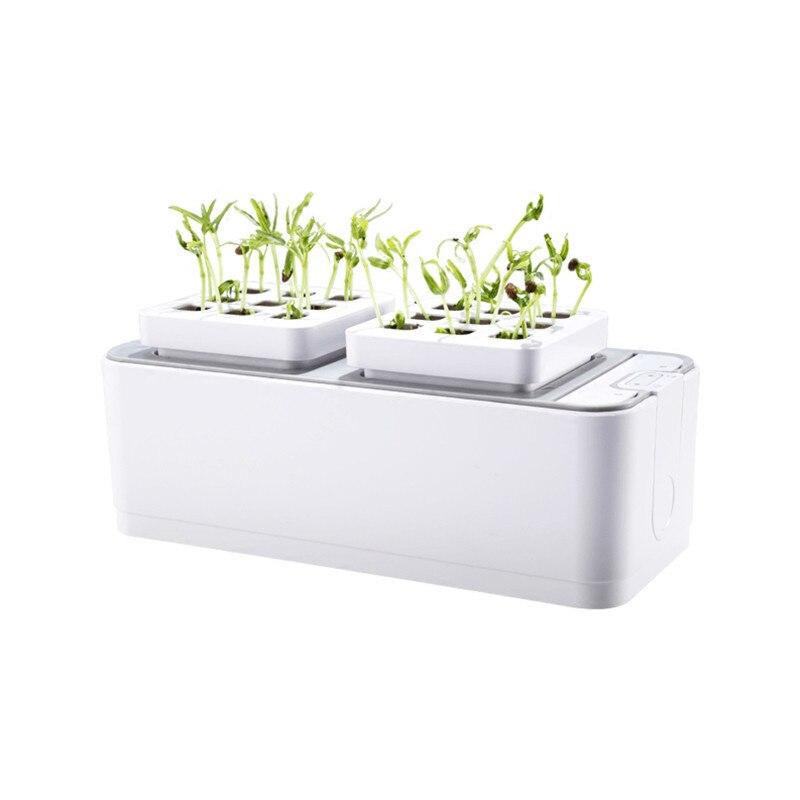 Батарея Soilless культивирование растение рост рассады наборы гидропонный Набор для выращивания саженцев система садовых растений коробка дл