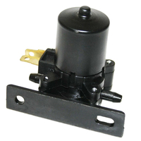 New 12V Universal Black Windshield Water Pump for Car Bus Truck