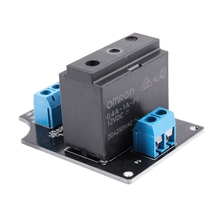 12VDC 20A 250VAC 1 Channel G4A-1A-PE OMRON Solid State Relay Module