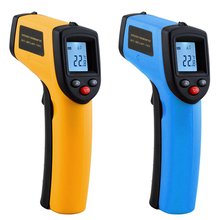 Infrared Thermometer 380 Degree Celsius LCD Display Temperature Pyrometer IR Laser Point Gun for Industry Home Non Contact все цены
