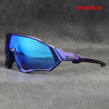 Ciclismo óculos de sol das mulheres dos homens da bicicleta de estrada equitação correndo óculos oculos ciclismo mtb fietsbril gafas 1 lente 1