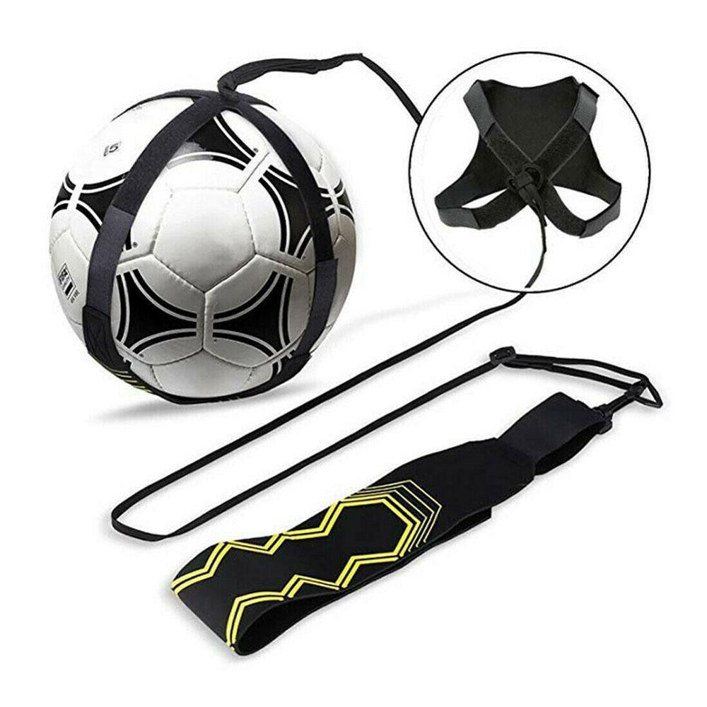 Soccer Football Kick Throw Returner Self Trainer Waist Belt Training Equipment