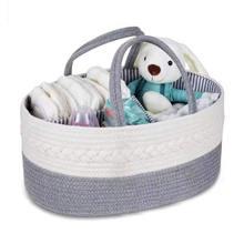 Коробка для хранения детских подгузников корзина из 100% хлопчатобумажной