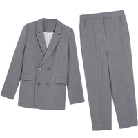 Work Fashion Pant Suits 2 Piece Set for Women Blazer Jacket & Trouser Office Lady Slim Casual Fashion Suit Spring summer 2019